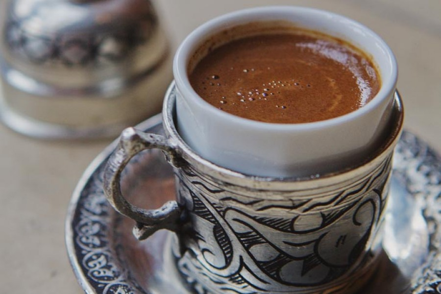 Turkish coffee is an art