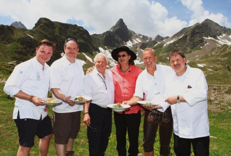 On sturdy shoes to chefs in the Pauznaun Valley
