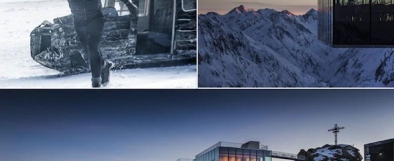 Tiroler bergen het decor van de nieuwe James Bond 'Spectre'