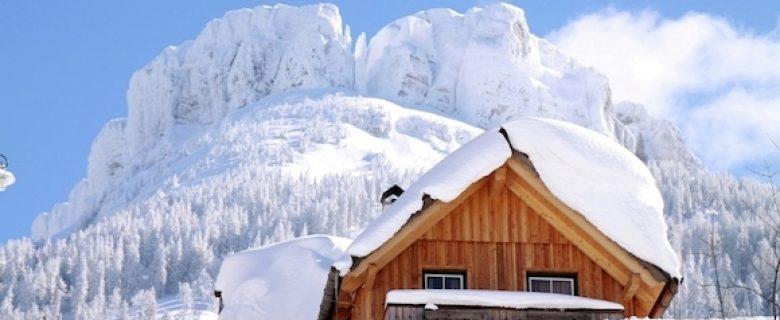 Authentiek logeren in de sneeuw