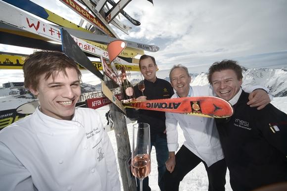 Paznaun-Ischgl culinaire hotspot van de Alpen ©Ischgl