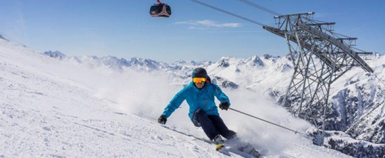 Voorjaarsskiën in Ischgl: goede sneeuwcondities en spectaculaire open air-concerten