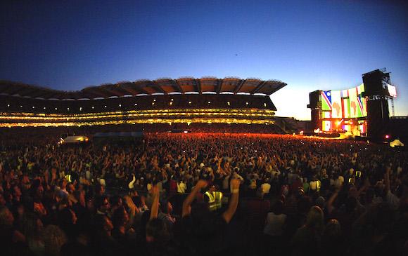 U2 concert Croke Park © Tourism Ireland