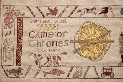 Game of Thrones® komt tot leven op 75 meter lang wandtapijt