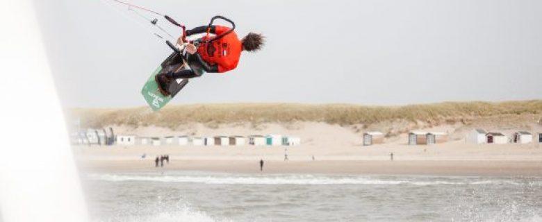 Nederlands succes tijdens eerste dag World Cup Freestyle Elite League Kiteboarding op Texel