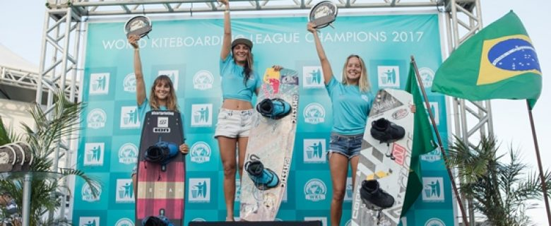 Nederlandse kiteboarder Annabel van Westerop tweede van de wereld