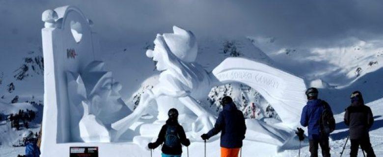 Ischgl kiest winnaar sneeuw- en ijssculptuur event 'Shapes in White'
