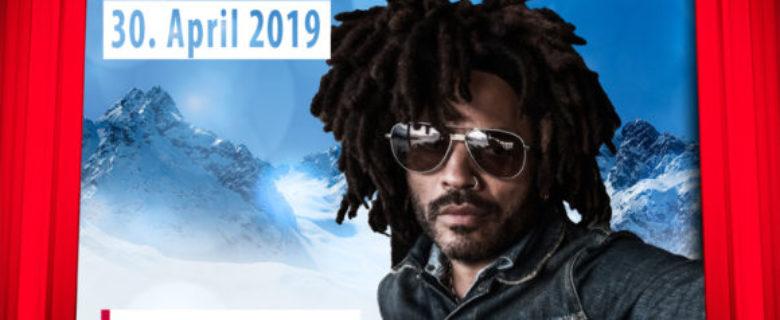 Rocklegende Lenny Kravitz sluit winterseizoen in Ischgl