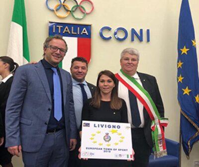 Livigno gekozen tot 'Europese Stad van Sport 2019'