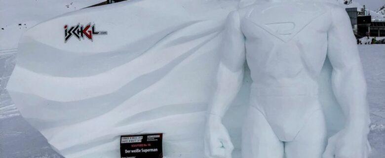 Ischgl benoemt Superman tot winnaar 'Shapes in White'
