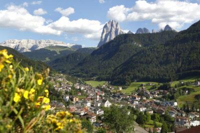 De drie dorpen van Val Gardena