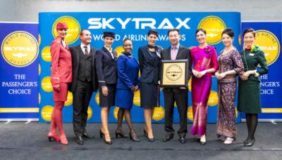 Star Alliance voor de vierde keer op rij uitgeroepen tot beste luchtvaart-alliantie tijdens 'Skytrax World Airline Awards'
